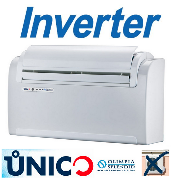 OLIMPIA SPLENDID UNICO INVERTER 12 HP